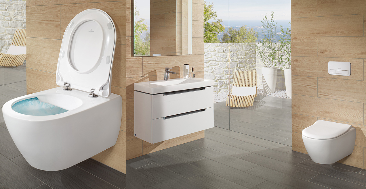 Bath trends feeling great taken to the highest level for Catalogue villeroy et boch carrelage