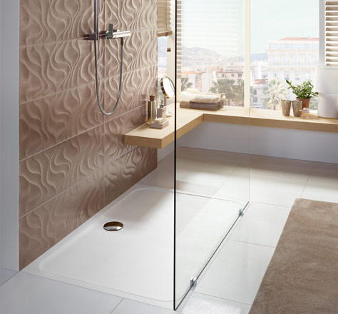create a barrier free bathroom with villeroy boch. Black Bedroom Furniture Sets. Home Design Ideas