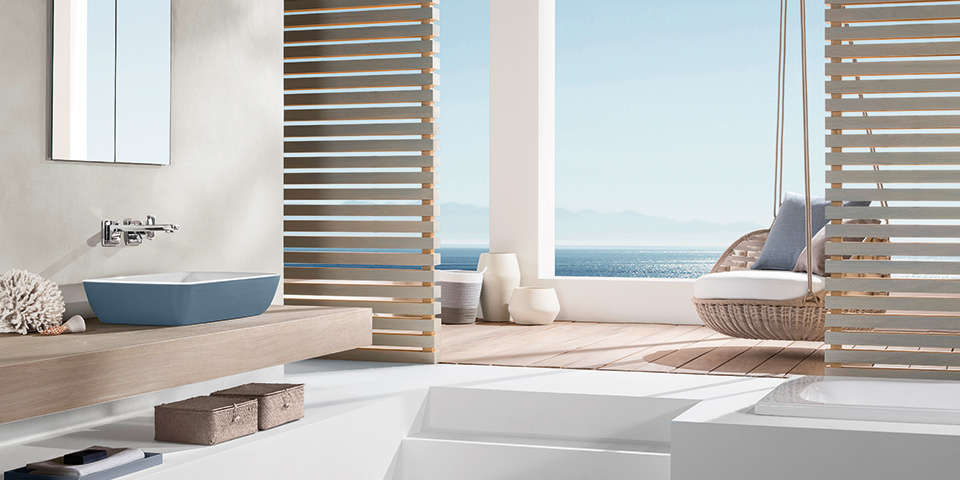 Experience the joy of colour design in your bathroom - Villeroy & Boch