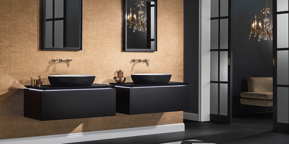 experience the joy of colour design in your bathroom. Black Bedroom Furniture Sets. Home Design Ideas