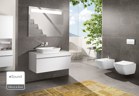 the more to see 14 mirrors will display your bathroom in the right light it can be combined with all of the villeroy boch bathroom collections and turns - Bathroom Designs Villeroy And Boch