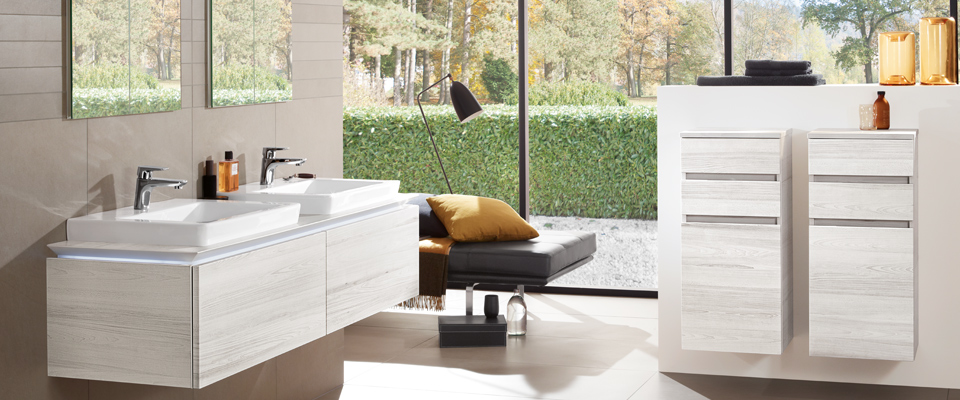 legato collection by villeroy boch modern comfort functional and versatile. Black Bedroom Furniture Sets. Home Design Ideas