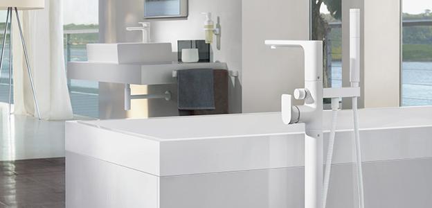 Bathtub fittings from Villeroy & Boch - puristic design   {Badewannenarmaturen 6}