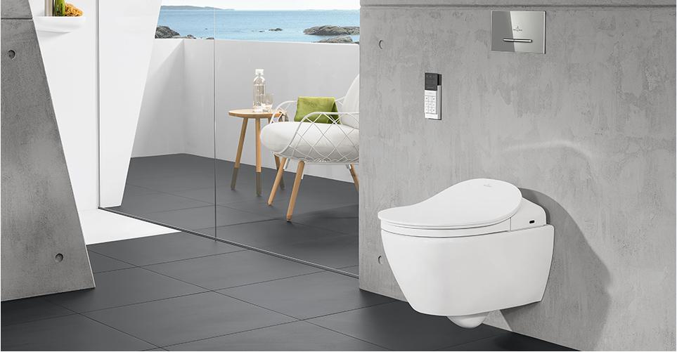 Villeroy & Boch ViClean shower toilets