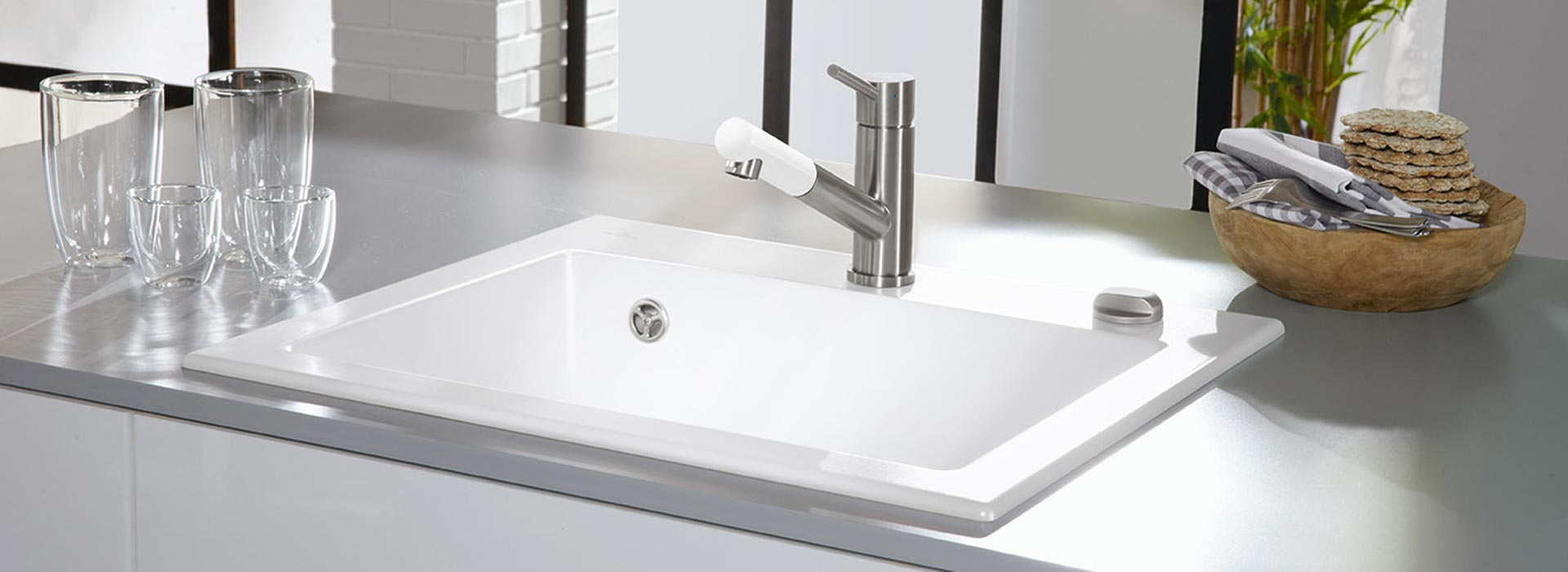 High quality ceramic sink from villeroy boch built in sink subway 60s workwithnaturefo