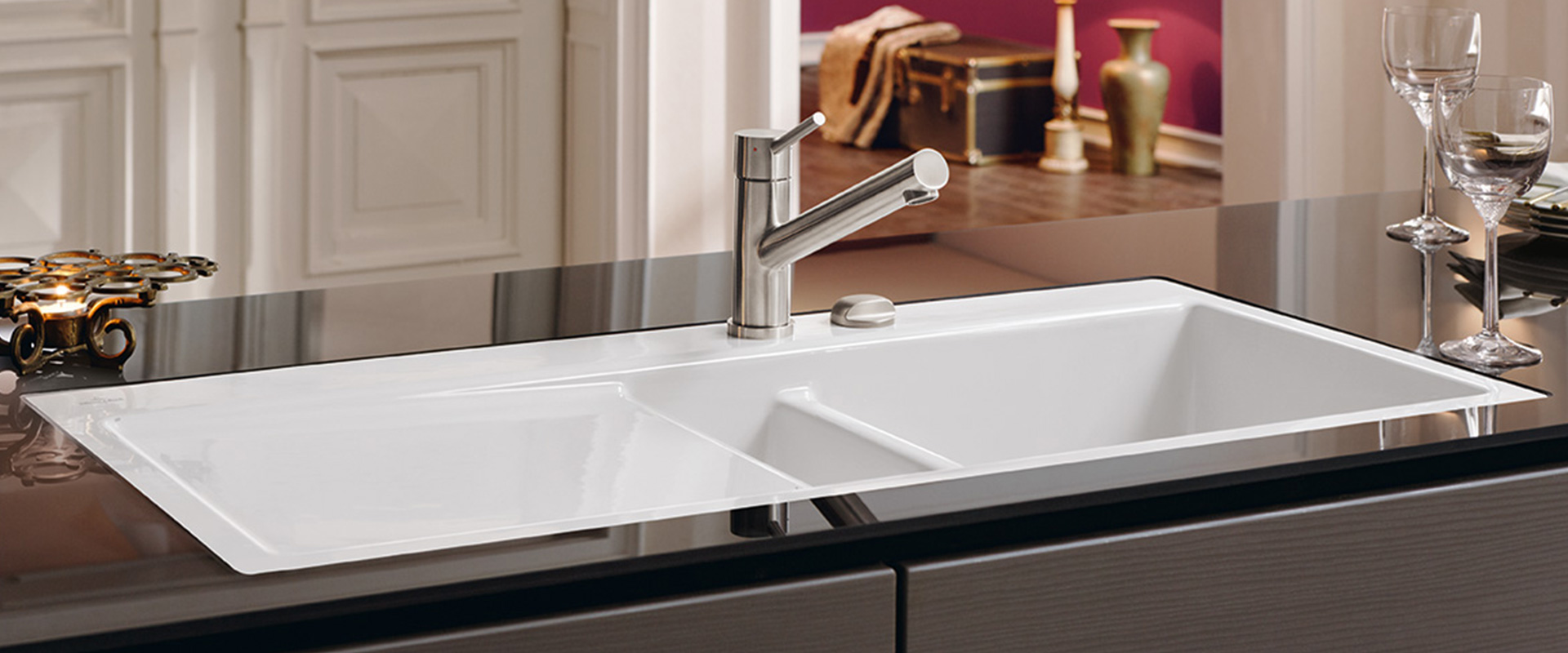 Design your kitchen with Villeroy  Boch