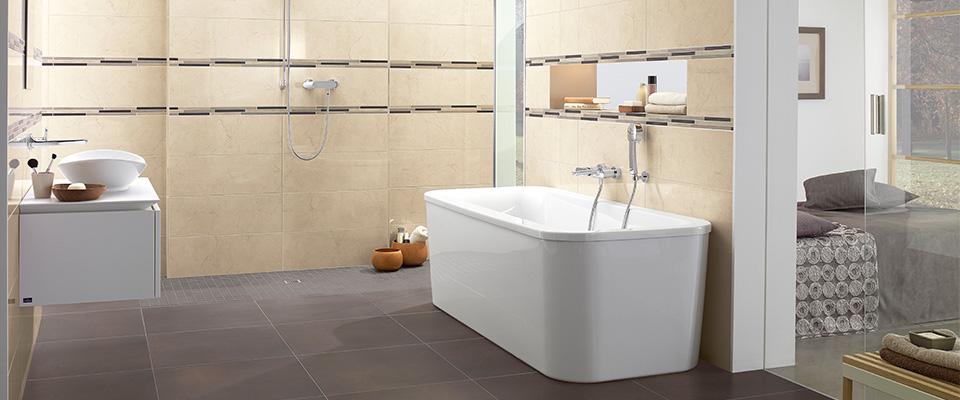Bathroom Tiles Villeroy Boch collection avalon