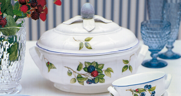 Cottage fruity colourful country style tableware - Vajillas villeroy boch ...