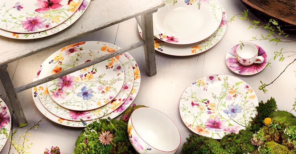 MARIEFLEUR & Mariefleur - A romantic pattern resembling a summer garden