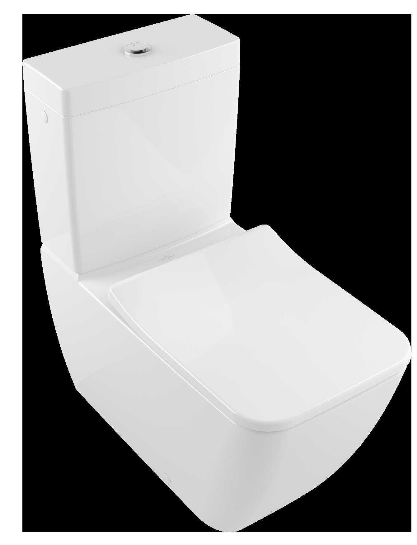 Super Venticello Washdown WC for close-coupled WC-suite, rimless Angular  WA19