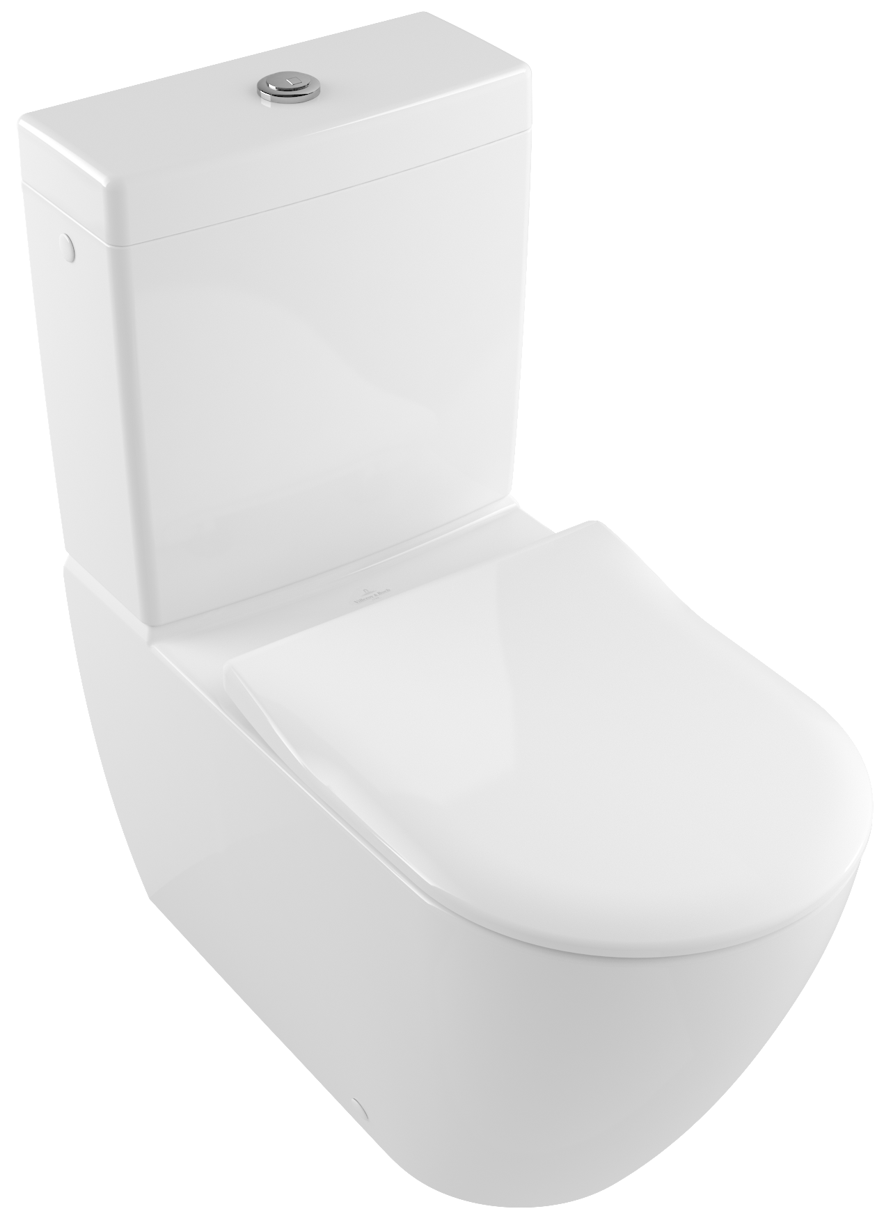 Interessant Subway 2.0 Washdown WC for close-coupled WC-suite, rimless 5617R0  UL81