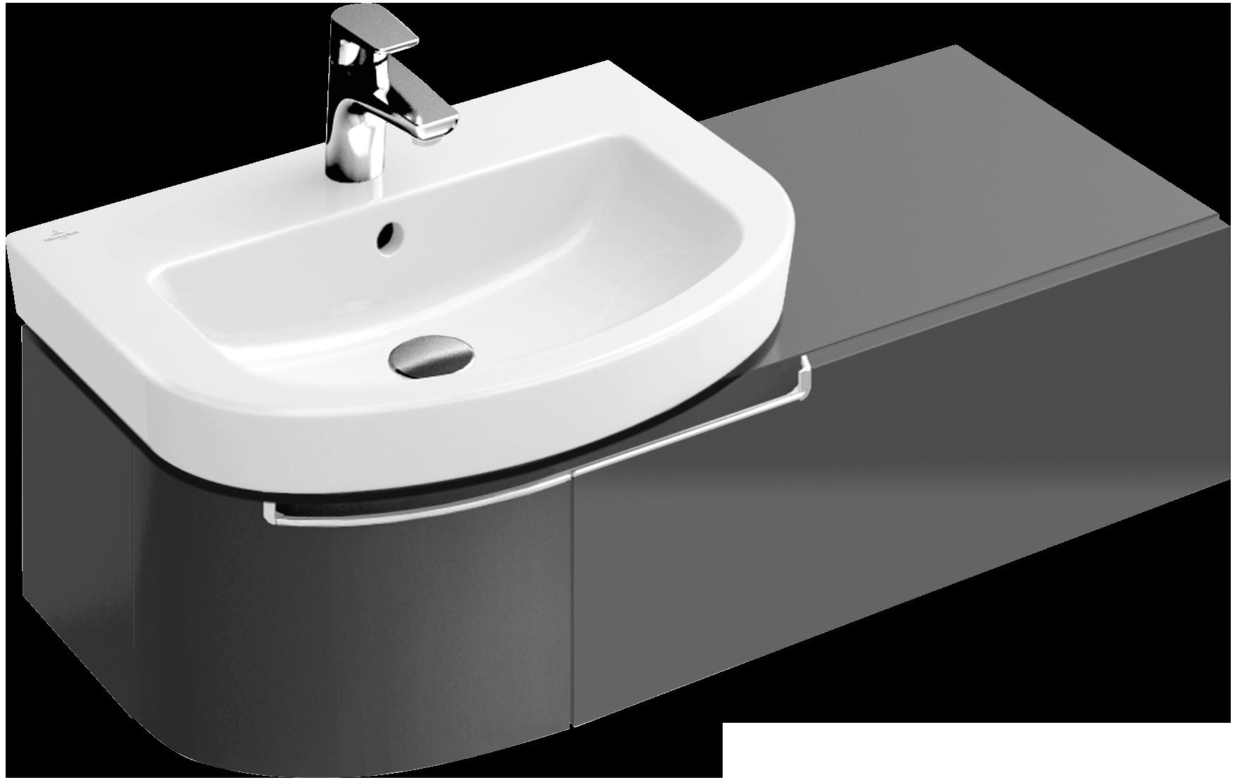 Subway 2 0 vanity unit a7030r villeroy boch - Villeroy and boch bathroom cabinets ...