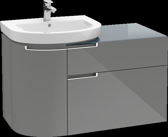 subway 2 0 vanity unit a9200s villeroy boch. Black Bedroom Furniture Sets. Home Design Ideas