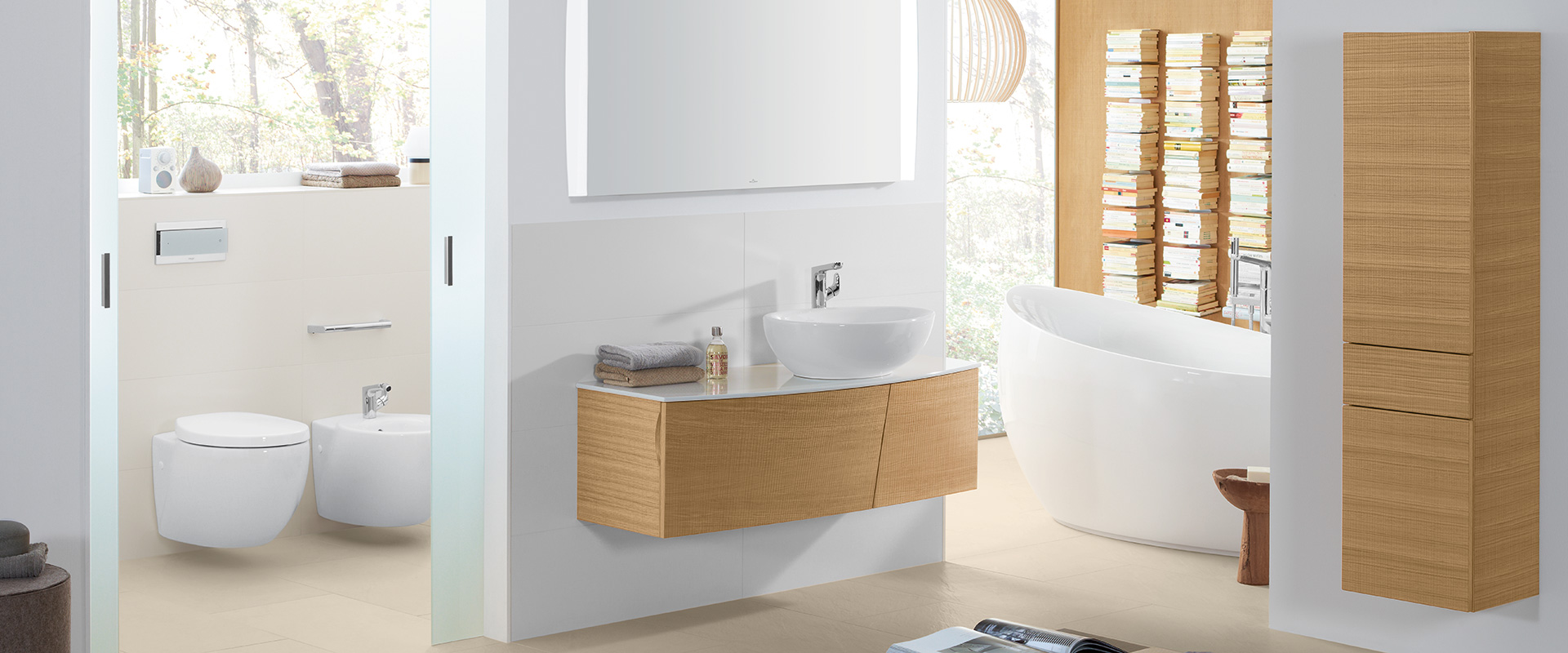 Aveo new generation collection by Villeroy & Boch - Natural